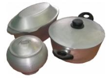 Посуда алюминиевая литая