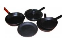 Сковороды, жаровни, блинницы чугунные