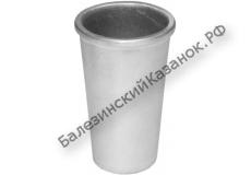 Форма литая для выпечки кекса ЛС 4 (стакан №4)