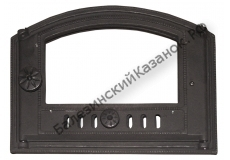 Дверка каминная ДТК под стекло (450*326 мм)