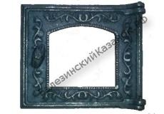 Дверка топочная по стекло ДТ-3 (270*230 мм)