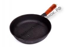 Сковорода-гриль чугунная Г-240/50-1 с рифленым дном