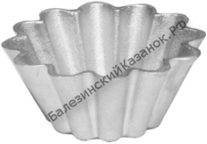 Форма литая для выпечки кекса ЛК 1 (кекс №1)