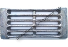 Решетка печная колосниковая РУ-6 (285*135 мм)